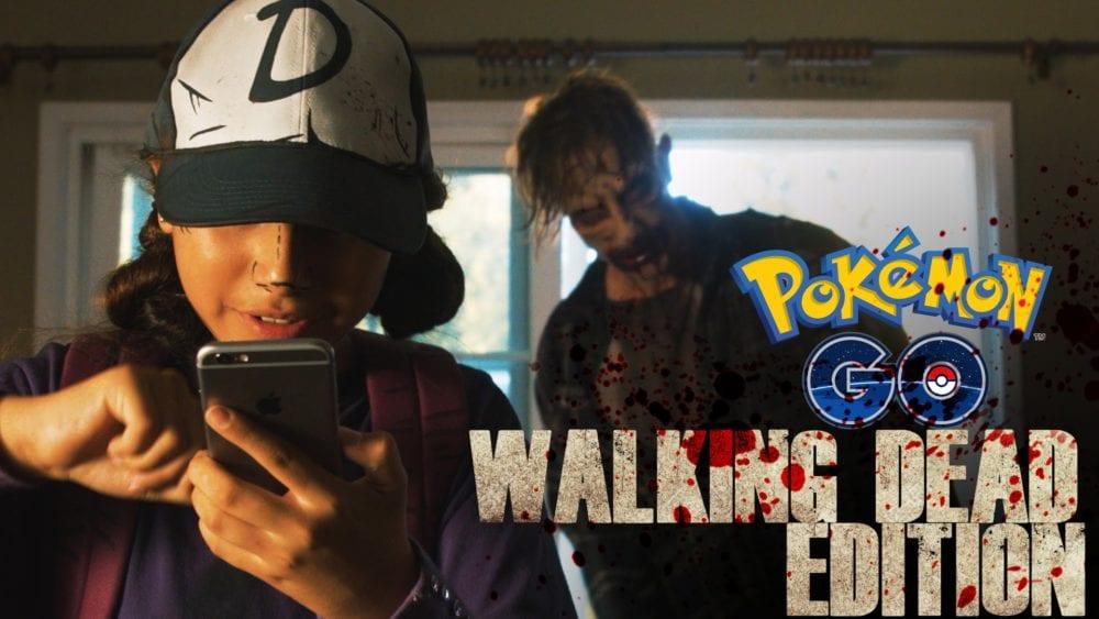 Pokemon Go, Walking Dead