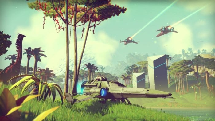 no man's sky, dev diary, center