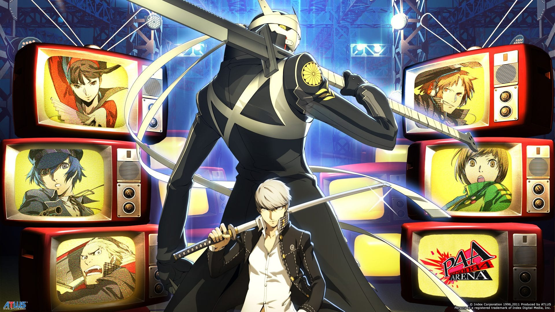 persona 4 arena wall