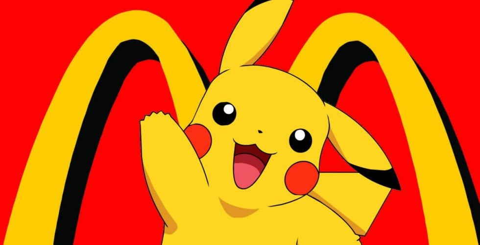 pikachu mcds pokemon go