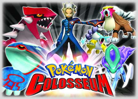 23. Pokemon Colosseum (2004) - GameCube