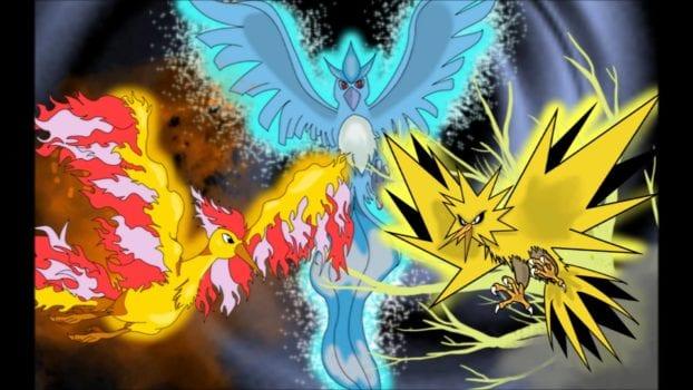 Pokemon GO: The Three Legendary Birds