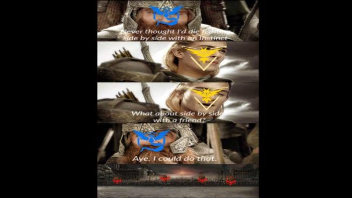 pokemon go team war