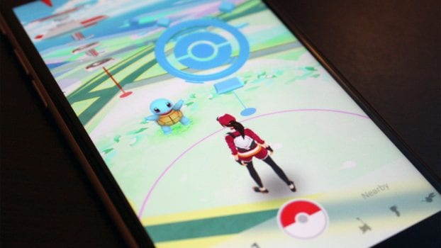 Pokemon GO has replaced all apps on your phone's home screen.