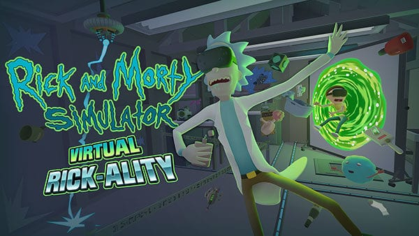 rick and morty,simulator,alternate rick-ality,vr,vive,owlchemy,job simulator,adult swim,sdcc