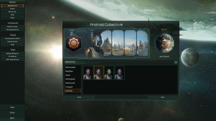 Stellaris Droid