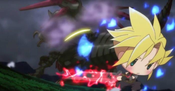 world of final fantasy anime