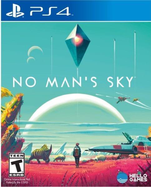 no man's sky, box art
