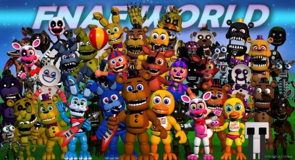 every five nights at freddy s game and spin off