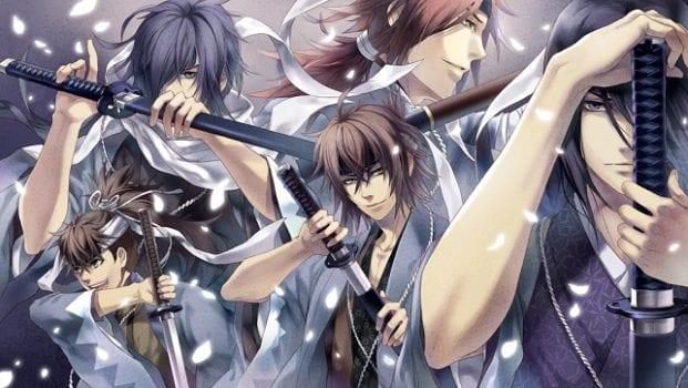Hakouki: Demon of the Fleeting Blossom - PSP, PS VITA