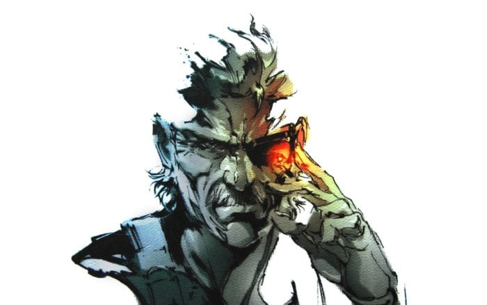 Metal Gear Solid 4 Old Snake
