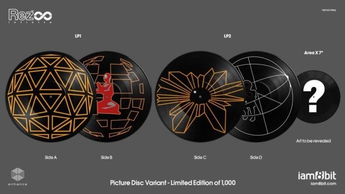 Rez Infinite Picture Vinyls