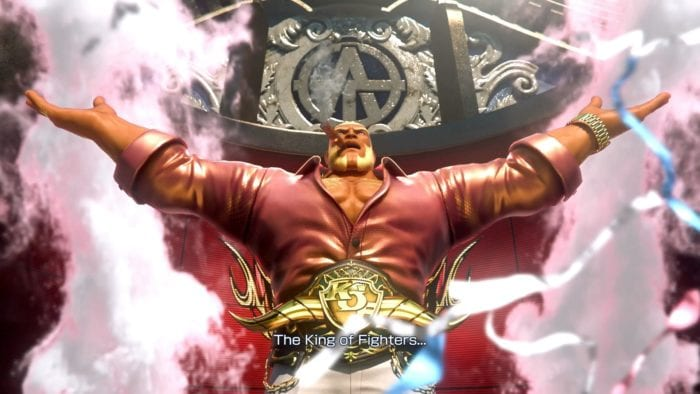 The King of Fighters XIV Antonov