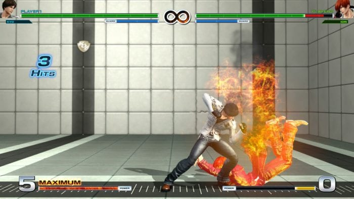 The King of Fighters XIV Kyo Combo