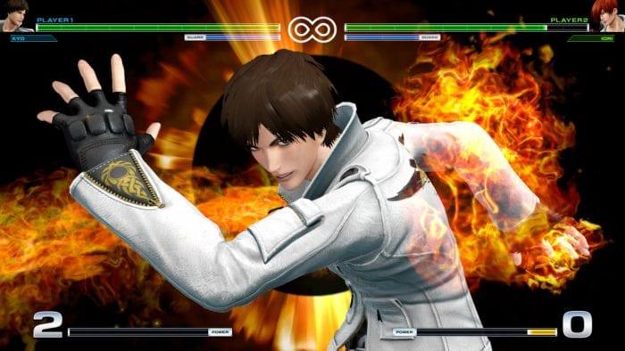 The King of Fighters XIV Kyo Kusanagi