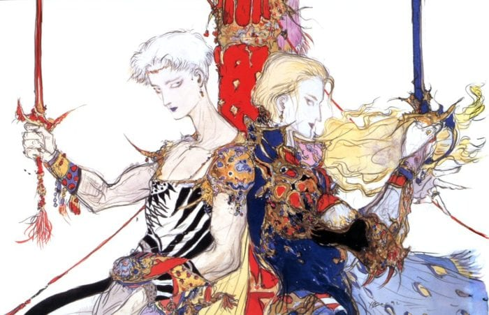 yoshitaka amano, final fantasy, art, artbook, amano illustrations