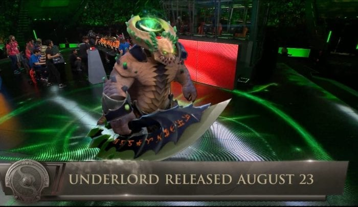 New Dota 2 Hero Underlord Revealed at the International Dota 2 Abyssal Underlord