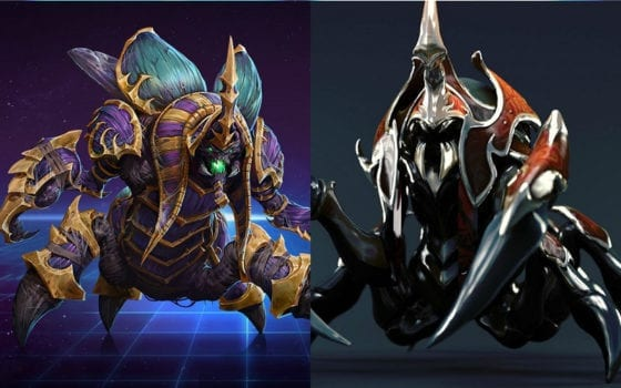 Nyx Assassin (Dota 2) vs Anub'Arak (Heroes of the Storm)