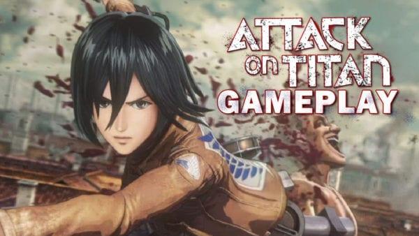 attack on titan gameplay
