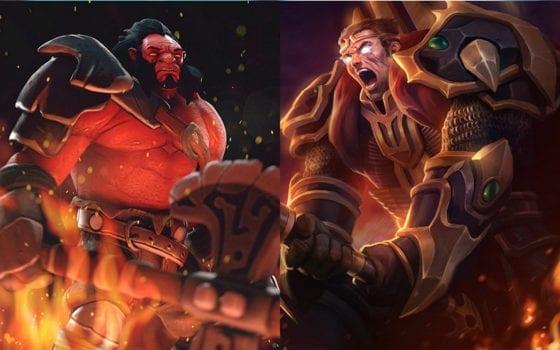 Axe (Dota 2) vs Darius (League of Legends)