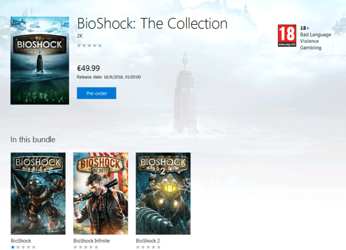 Bioshock Collection on Xbox One