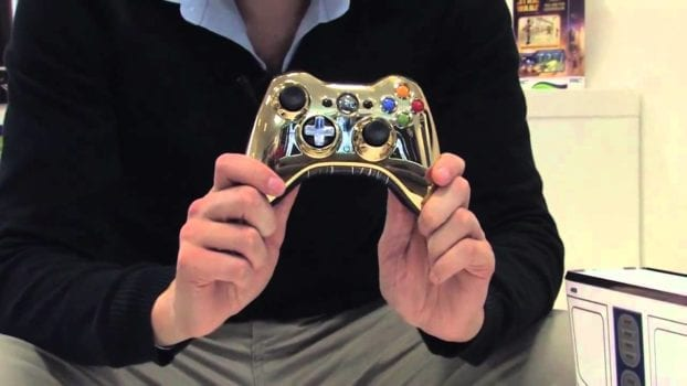Star Wars C3P0 Xbox 360 Controller