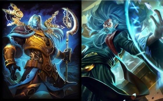Chronos (Smite) vs Zilean (League of Legends)