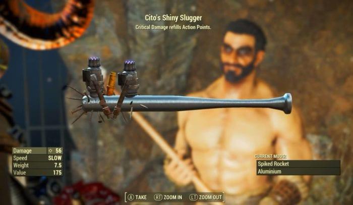 cito's slugger fallout 4 nuka-world