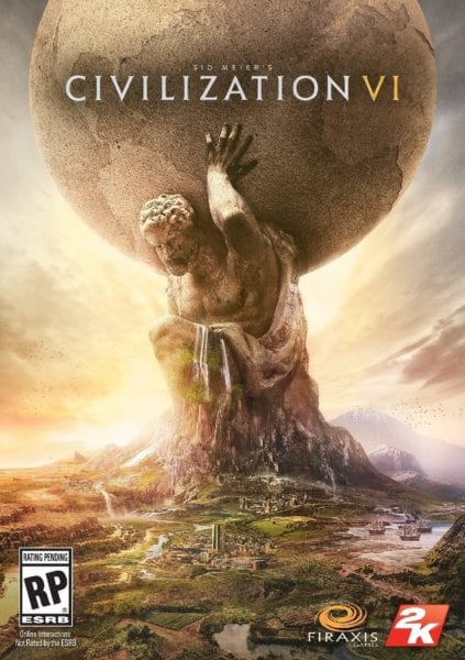 civilization vi, box art