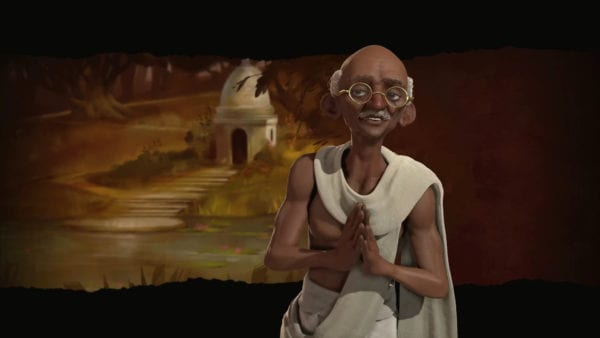 Civilization VI India Gandhi