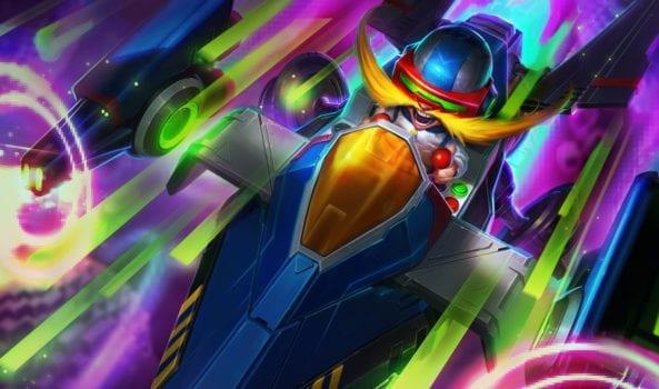 League of Legends Arcade Corki