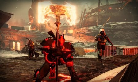 destiny rise of iron huge axe thing
