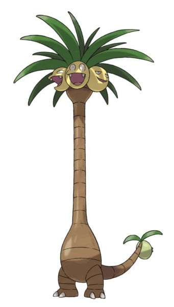 exeggutor pokemon sun and moon