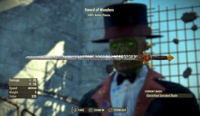fallout 4 nuka-world sword of wonders