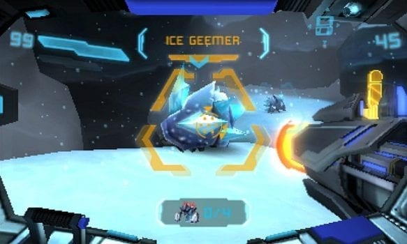 Metroid Prime: Federation Force Ice Geemer