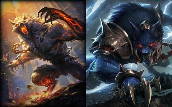 Fenrir (Smite) vs Warwick (League of Legends)