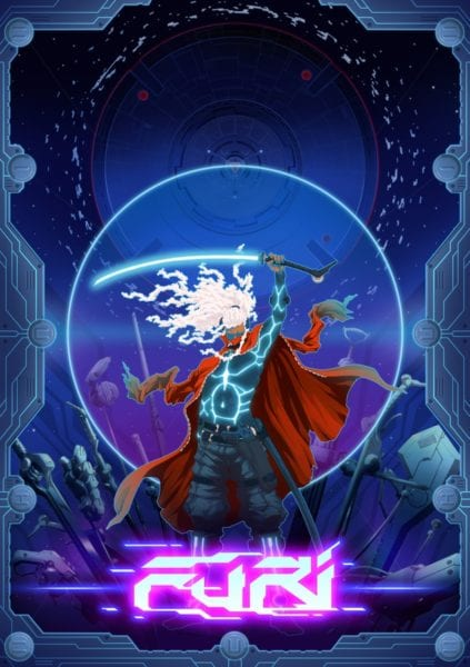 furi, box art