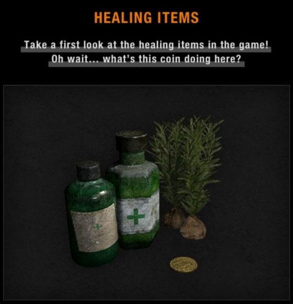 Resident Evil 7 herbs