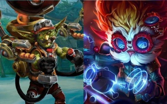 Heimerdinger (League of Legends) vs Gazlowe (Heroes of the Storm)
