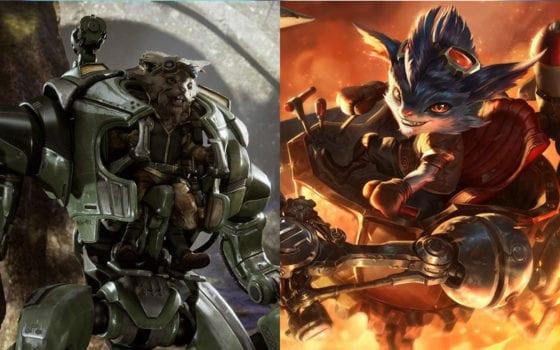Rumble (League of Legends) vs Howitzer (Paragon)