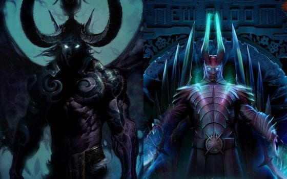 Illidan (Heroes of the Storm) vs Terrorblade (Dota 2)