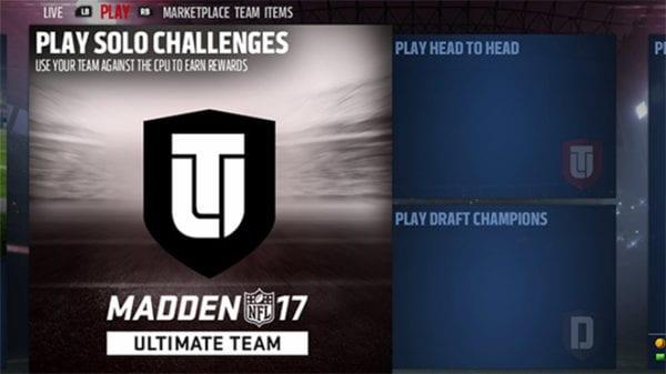 Madden 17 MUT