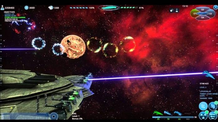 Infinium Strike Gameplay