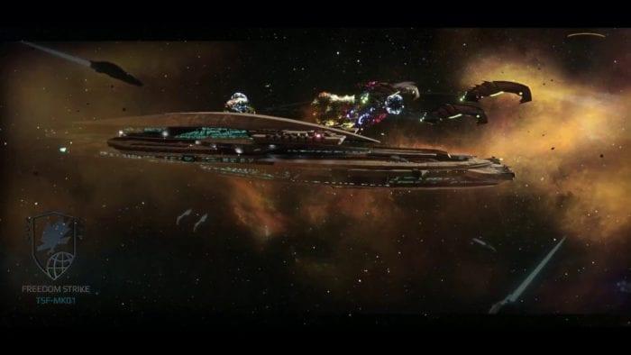Infinium Strike Ship