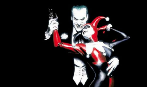 Joker and Harley Quinn dancing