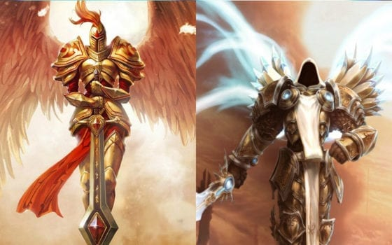 Kayle (League of Legends) vs Tyrael (Heroes of the Storm)