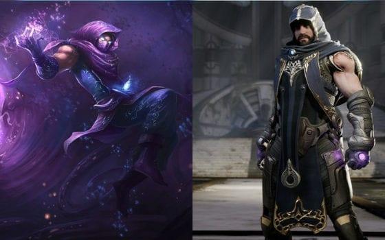 Malzahar (League of Legends) vs Gideon (Paragon)