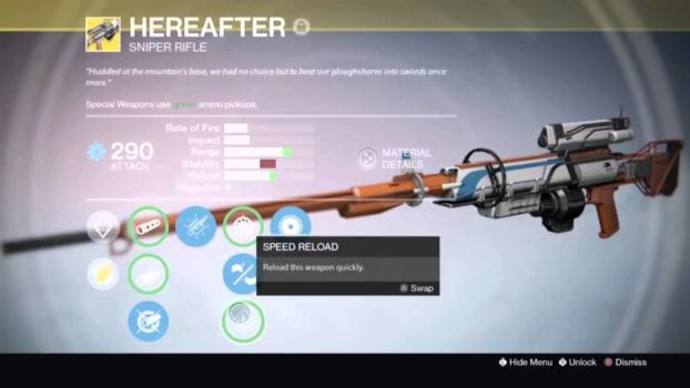 Hereafter - Sniper Rifle