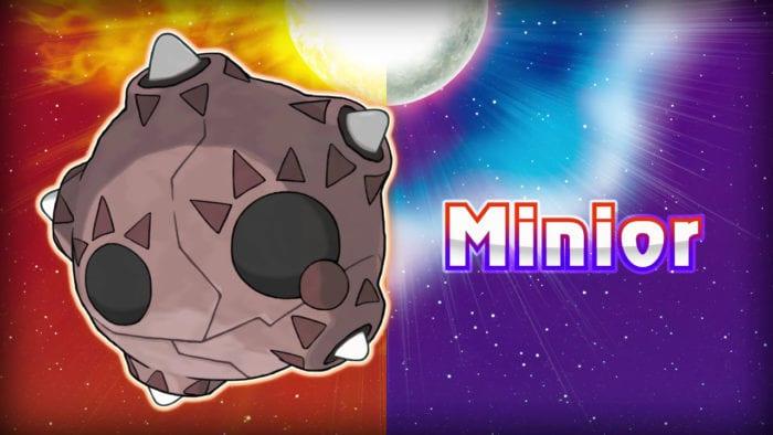 minior pokemon sun and moon