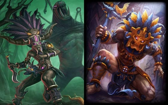 Nazeebo (Heroes of the Storm) vs Ah Puch (Smite)